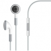 DC Earphone Headphone with Volumm Remote Control and Mic for ipod iphone 3 3GS 4 4G 4S iPad