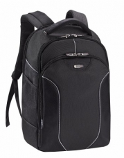 SOLO Sentinel Collection Laptop Backpack, Holds Notebook Computer up to 17.3 Inches, Plus e-Reader, iPad or Netbook, Black (RMR701-4)