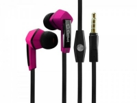 LG Spectrum 2 Stereo Inside The Ear Headphones Built In Hands Free Microphone And Dynamic Driver Pink With Square Shape