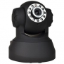 Infrared Motion Night Vision Network Color Camera w/Pan & Tilt Control, Microphone