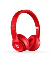 Beats Solo 2.0 On-Ear Headphones (Red)