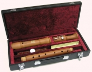 Hohner Professional Baroque Tenor C Pear Wood Recorder Model 9614