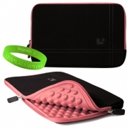 HP Folio 13 13 Notebook Accessories Electric Pink Drumm Neoprene Sleeve Carrying Case for HP Folio 13 13 Notebooks