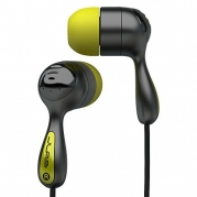 JLab JBuds Hi-Fi Noise-Reducing Ear Buds (Black / Yellow)
