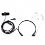 Throat Mic Microphone Covert Acoustic Tube Earpiece Headset With Finger PTT for 1 PIN Motorola Radio T9650 T9680 XTL446 XTR446 PMR446 SX500 SX620R etc.